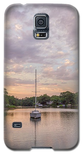 Sunset On The Magothy River Galaxy S5 Case
