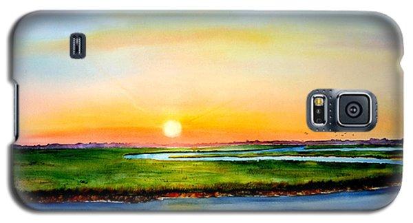 Sunset On The Marsh Galaxy S5 Case