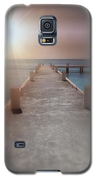 Sunset On The Pier Galaxy S5 Case