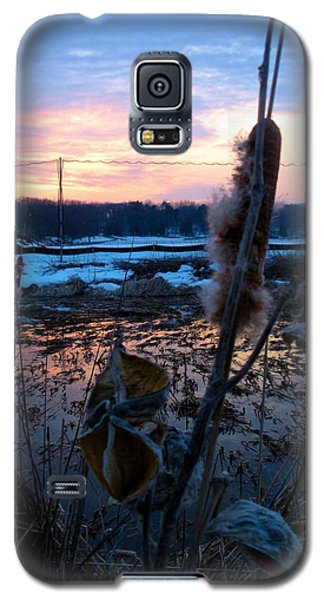 Sunset On The Pond Galaxy S5 Case