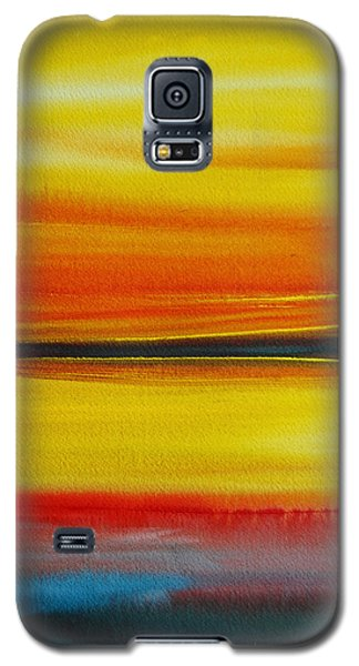Sunset On The Puget Sound Galaxy S5 Case by Jani Freimann