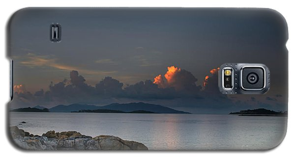 Sunset On The Sea Galaxy S5 Case