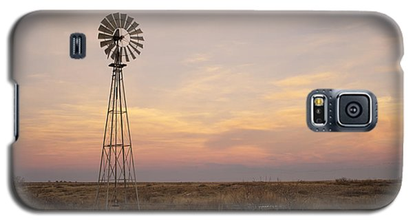 Sunset On The Texas Plains Galaxy S5 Case