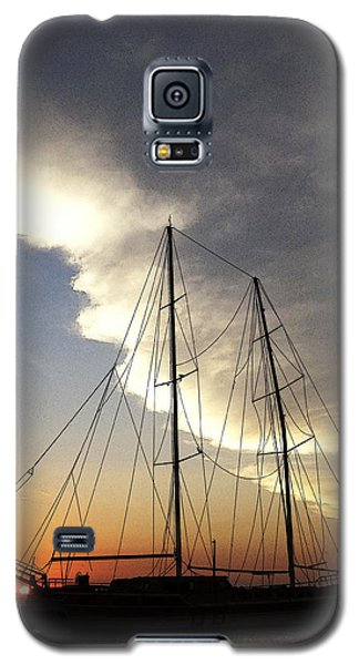 Sunset On The Turkish Gulet Galaxy S5 Case