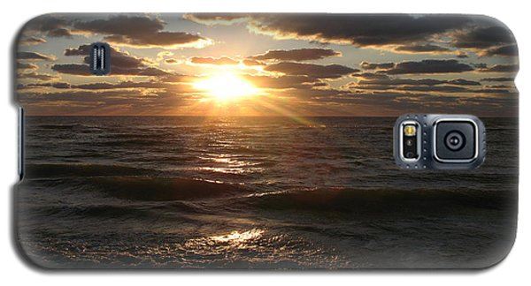 Galaxy S5 Case featuring the photograph Sunset On Venice Beach  by Christiane Schulze Art And Photography