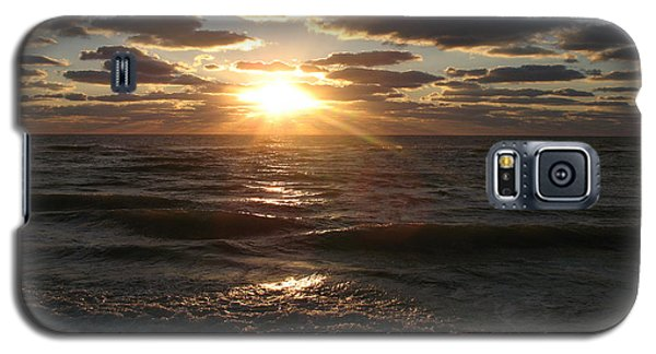 Sunset On Venice Beach  Galaxy S5 Case by Christiane Schulze Art And Photography