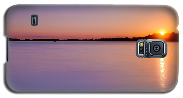 Sunset On White Bear Lake Galaxy S5 Case
