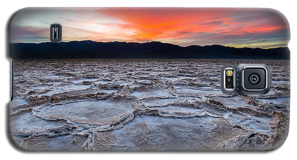 Sunset Over Badwater Galaxy S5 Case
