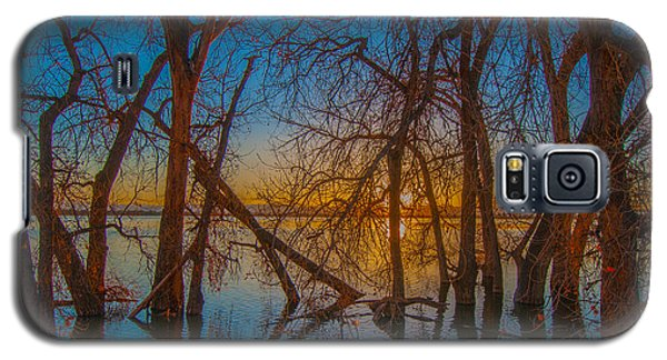 Sunset Over Barr Lake_2 Galaxy S5 Case by Tom Potter