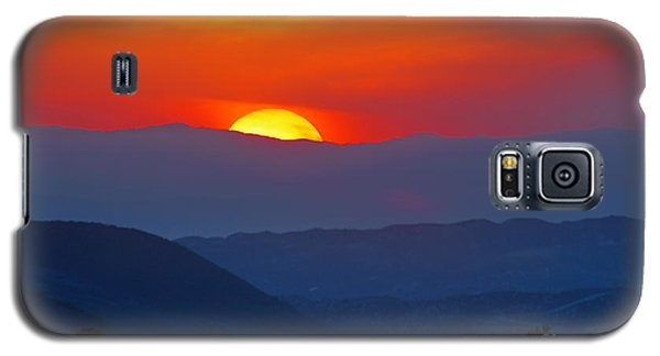 Sunset Over California Galaxy S5 Case