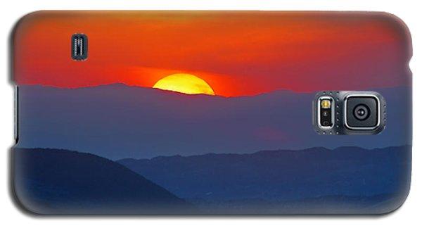Sunset Over California Galaxy S5 Case