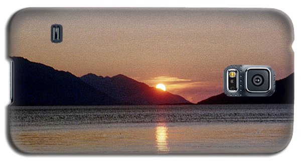 Sunset Over Cook Inlet Alaska Galaxy S5 Case by Denyse Duhaime
