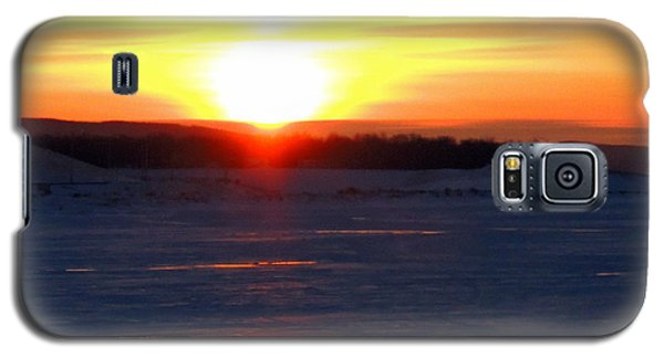 Sunset Over Devils Lake Galaxy S5 Case