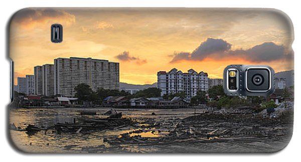 Sunset Over Georgetown Penang Malaysia Galaxy S5 Case