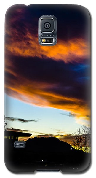 Sunset Over Granite Mountain And Ac1 Galaxy S5 Case