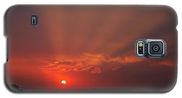 Sunset Over Hope Island 2 Galaxy S5 Case by Blair Stuart