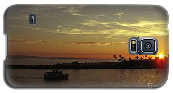 Sunset Over Jetty Point Galaxy S5 Case