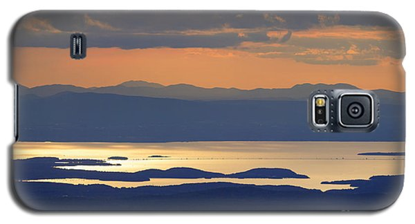 Sunset Over Lake Champlain Galaxy S5 Case