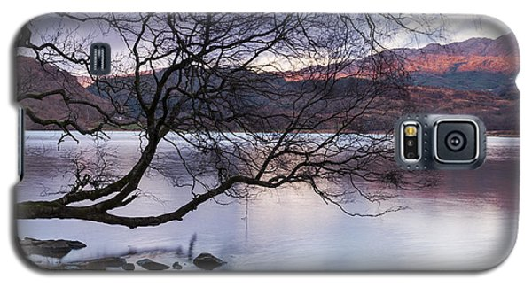 Sunset Over Lake Dinas Galaxy S5 Case