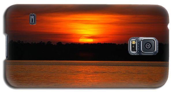 Sunset Over Lake Martin Galaxy S5 Case by Donald Williams