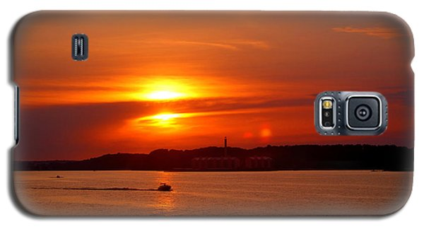 Sunset Over Lake Ozark Galaxy S5 Case