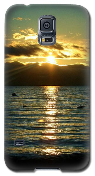 Sunset Over Lake Tahoe Galaxy S5 Case