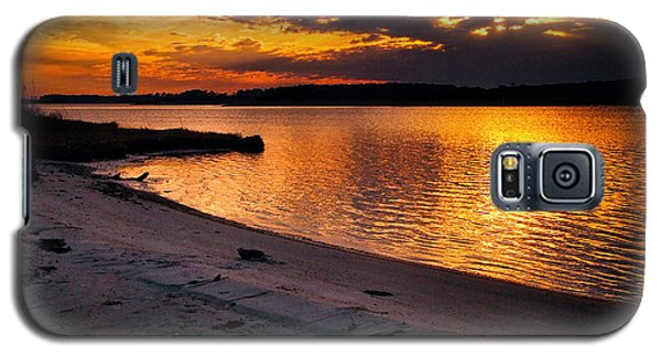 Sunset Over Little Assawoman Bay Galaxy S5 Case