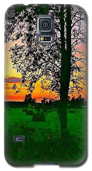 Galaxy S5 Case featuring the photograph Sunset Over M-33 by Daniel Thompson