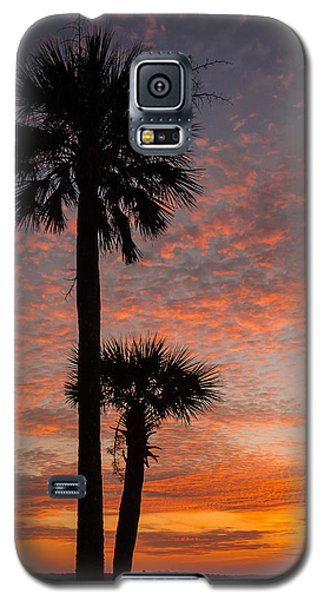 Galaxy S5 Case featuring the photograph Sunset Over Marsh by Patricia Schaefer