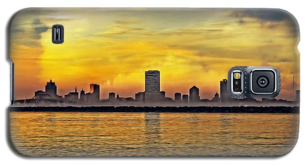 Sunset Over Milwaukee Galaxy S5 Case