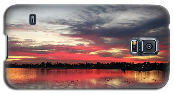 Sunset Over Mission Bay  Galaxy S5 Case
