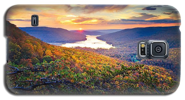 Sunset Over Mullins Cove Galaxy S5 Case