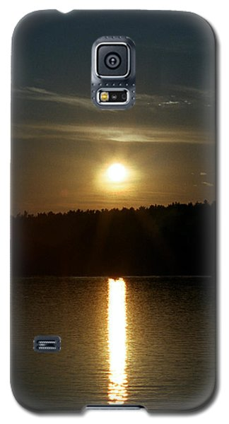 Sunset Over Pickerel River Sun 91 Galaxy S5 Case by G L Sarti