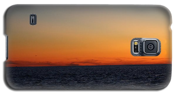 Galaxy S5 Case featuring the photograph Sunset Over Point Lookout by John Telfer