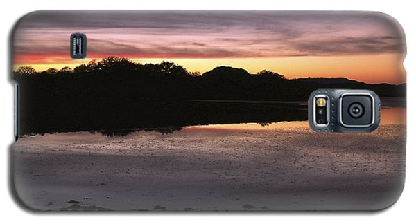 Sunset Over Quanah Parker Lake Galaxy S5 Case