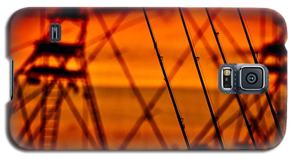 Sunset Over Sailfish Galaxy S5 Case