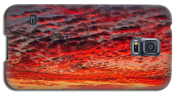Sunset Over Saunder's Reef Galaxy S5 Case