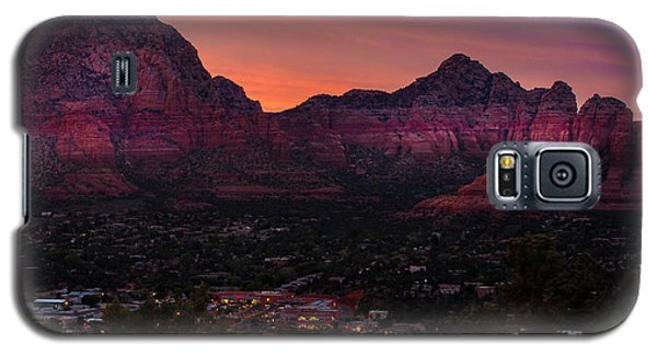 Sunset Over Sedona Az Galaxy S5 Case