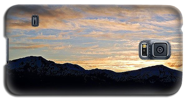 Sunset Over Skagway Ak Galaxy S5 Case
