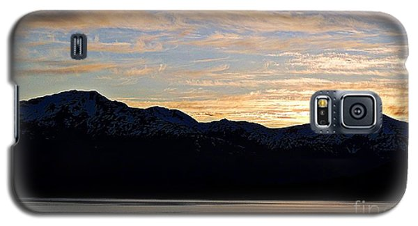 Sunset Over Skagway Ak Galaxy S5 Case