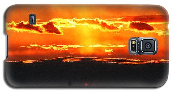 Sunset Over Sound Galaxy S5 Case