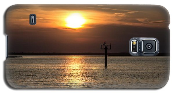 Sunset Over The Bay Galaxy S5 Case