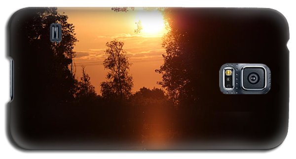 Sunset Over The Canals Galaxy S5 Case