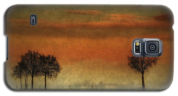 Sunset Over The Country Galaxy S5 Case