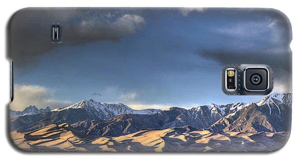 Sangre De Cristo Galaxy S5 Case - Sunset Over The Dunes by Aaron Spong