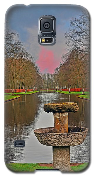 Sunset Over The Garden Galaxy S5 Case
