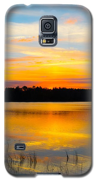 Sunset Over The Lake Galaxy S5 Case by Parker Cunningham