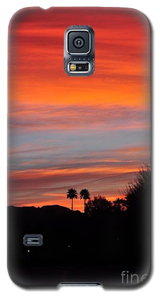Sunset Over The Mountains Galaxy S5 Case by Jay Milo