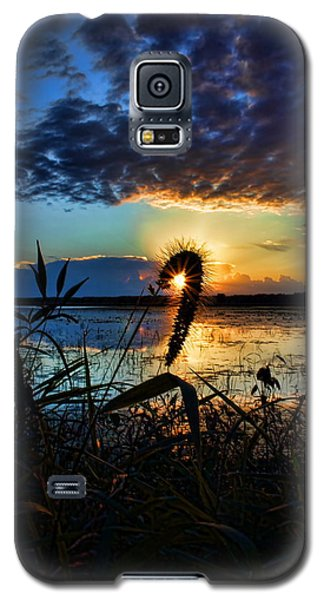 Sunset Over The Refuge Galaxy S5 Case
