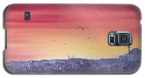 Sunset Over The Sea Of Marmar Galaxy S5 Case